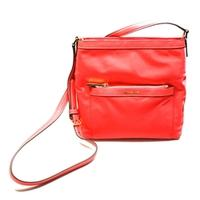 Michael KorsMorgan Medium Nylon Messenger/ Crossbody Bag Watermelon