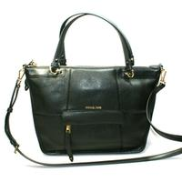 Michael KorsJesse Large Satchel Leather Bag Black