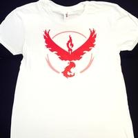 ZwappPokemon Go T Shirt Large White Team Valor