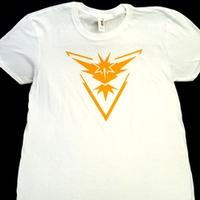 ZwappPokemon Go T Shirt Large White Team Instinct