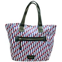 Marc By Marc JacobsParis Blue Kiss Multi Large Canvas Tote