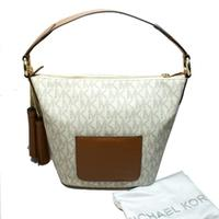 Michael KorsElana Medium Convertible Shoulder Bag Vanilla