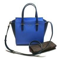 Kate SpadeSmall Hayden Cedar Street Blue Tote/Swing/ Crossbody Bag