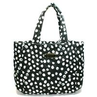 Marc By Marc JacobsBlack Multi Dots Medium Nylon Tote
