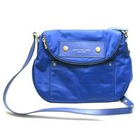 Marc By Marc JacobsMineral Blue Nylon Swing/ Cross Body Bag