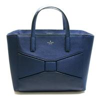 Kate SpadeSmall Francisca Bridge Place French Navy Tote/ Handbag