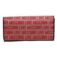 MoschinoSignature Red Flap Wallet/ Clutch