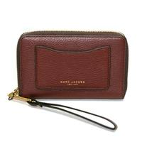 Marc By Marc JacobsChianti Red Leather Zip Around Wallet/ Wristlet