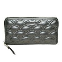 Marc By Marc JacobsAnthracite Leather Zip Around Wallet