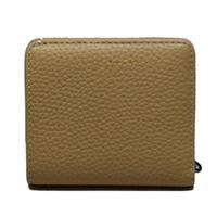 Marc By Marc JacobsSand Leather Flap Mini Wallet/ Clutch